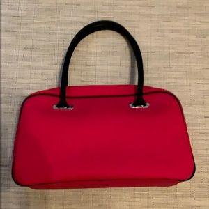 Red Lacoste Shoulder Bag